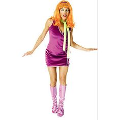 Scooby Doo Daphne Adult Halloween Costume