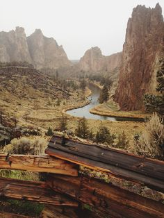 Smith Rock, Oregon.  Adding this to my bucket list of places to see before I die.