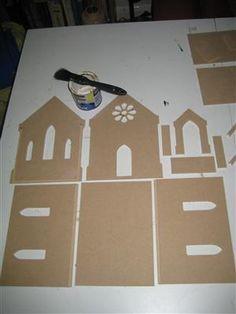 Chapel Dolls House Kit 1:24 scale