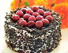 Τούρτα με βύσσινα Acai Bowl, Cakes, Breakfast, Christmas, Food, Acai Berry Bowl, Morning Coffee, Xmas, Cake Makers