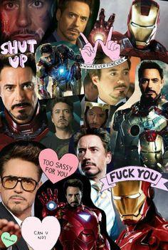 Iron Man Collage
