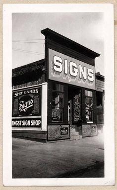 Vintage Sign Shop