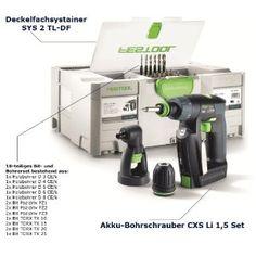 Festool Akku-Bohrschrauber CXS Li 1,5 Set-DF
