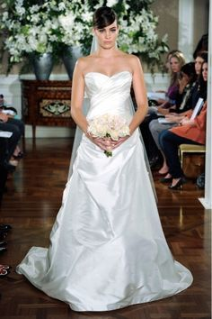 Cleveland area bridal shop featuring designer wedding dresses and bridesmaids dresses by designers such as Anne Barge, Hayley Page, Lea-Ann Belter, Martina Liana, and more at Brides by the Falls. Romona Keveza, Wedding Pins, Wedding Ideas, Martha Stewart Weddings, Plan Your Wedding, Designer Wedding Dresses, Bridal Gowns, One Shoulder Wedding Dress, Bridesmaid Dresses