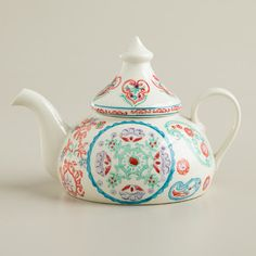 Travelers' Christmas Teapot - contemporary - Teapots - Cost Plus World Market