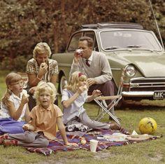 Aile Pikniği, Hollanda, 1965