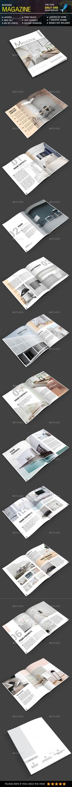 Minimal Interior Magazine - Magazines Print Templates Download here : https://graphicriver.net/item/minimal-interior-magazine/20683658?s_rank=1&ref=Al-fatih #magazine #magazine template #magazine layout #template #premium design #design grafis #layout #creative design #indesign magazine