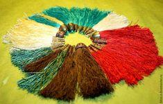 Мастер-класс: красивые кисточки из ниток - Ярмарка Мастеров - ручная работа, handmade