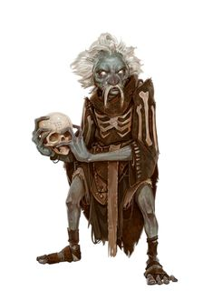 Vreeg is the loyal apprentice to Rolth the necromancer. He runs one of Rolths many hidden labs in Korvosa, this one in the Dead Warrens. Character Concept, Character Art, Character Design, Fantasy Monster, Monster Art, Dnd Characters, Fantasy Characters, Dark Souls, Deep Gnome