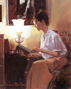 Reading and Art - Rowland Davidson