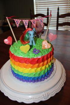 my little pony cakes | My Little Pony Cakes – Decoration Ideas