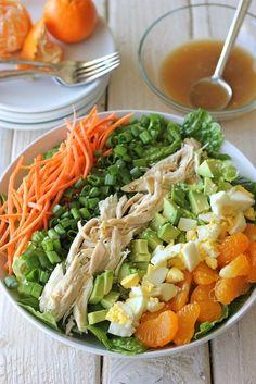 Asian Cobb Salad