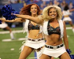 Love this Yeah this is the way to go.I can do this with my cheap DSLR!You can learn to do this right now! American Sports, American Football, Colts Cheerleaders, Lucas Oil Stadium, Cheerleader Costume, Football Conference, Indianapolis Colts, These Girls, Football Team