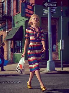Aline Weber Hangs In 'New York, New York' Snapped By Gustavo Zylbersztain For…