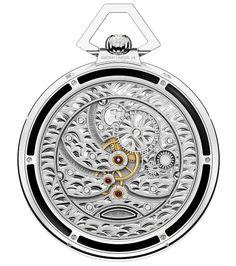 9012f752d15 Conheça o exclusivo relógio Montblanc Villeret Tourbillon Cylindrique de  Bolso Edição 110 Anos