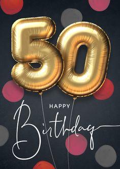 50th Birthday Greetings, 50th Birthday Gag Gifts, Birthday Msgs, Happy Birthday Wishes Images, Birthday Clips, Happy Birthday Friend, Birthday Wishes Cards, Happy Birthday Fun, Happy Birthday Quotes