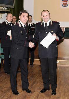 Consegna di riconoscimenti a militari del Comando Provinciale di Napoli