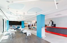 To create their corporate office space design using luxury vinyl flooring, The Nuclear Energy Institute used our FusedToo, Infrastructure selection. Interior Design Magazine, Office Interior Design, Office Interiors, Luxury Vinyl Flooring, Luxury Vinyl Tile, Transition Flooring, Inexpensive Flooring, Nuclear Energy, Nuclear Power