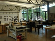 New Printmaking Studio At Penland