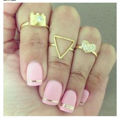 Can I have both? Nails and rings