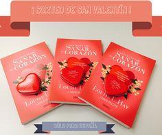 ¡Gana un ejemplar de 'USTED PUEDE SANAR SU CORAZÓN' de Louise Hay, y una cajita de caramelos, participando en nuestro SORTEO DE SAN VALENTÍN!