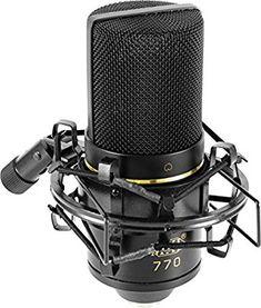 Amazon.com: MXL 770 Cardioid Condenser Microphone: MXL: Musical Instruments