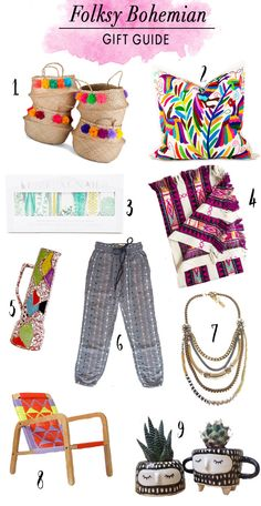 Gift Guide for the Folksy Bohemian