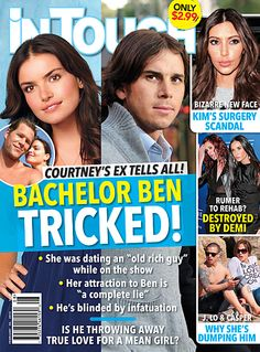 This Week In Tabloids: Courtney the Evil Succubus Maneater Will Devour Bachelor Ben Hollywood Celebrities, In Hollywood, Celebrity Gossip, Celebrity News, Professional Seo Services, Expecting Twins, Celebrity Magazines, Cool Magazine, Competitor Analysis