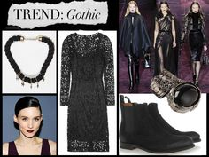 You Don't Have To Be Covered In Piercings To Rock Fall's Gothic Trend