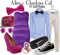 Disney Bound Alice + Cheshire Cat Alice in Wonderland