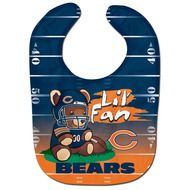 Chicago Bears Teddy Bear All Pro Baby Bib - free shipping in the USA!