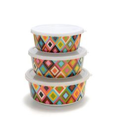 Multi-Colored Storage Containers... like tupperware 2.0