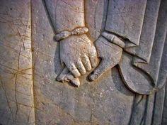 Holding hands - Persepolis, Iran