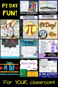 Do you celebrate Pi Day with your students? I think taking a break from routine and celebrating this special number is a great way for kids to have fun and and celebrate math all at the same time. If you're looking for something new to try, check out these fun activities.