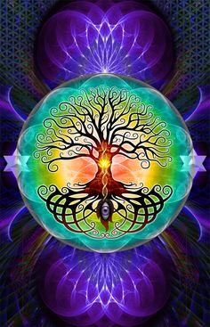 El amor de Dios es el Árbol de la Vida en medio del Paraíso Terrenal...♡