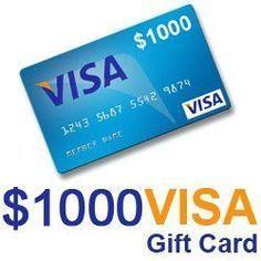 Win A 1 000 00 Visa Prepaid Reward Card Imagine What You Could
