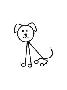 Wonderful Learn To Draw People The Female Body Ideas. Mesmerizing Learn To Draw People The Female Body Ideas. Doodle Drawings, Easy Drawings, Doodle Art, Stick Men Drawings, Drawing For Kids, Line Drawing, Art For Kids, Dog Drawing Simple, Stick Figure Drawing