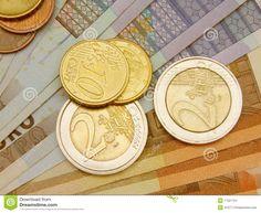 Euromynt Och Sedlar - Ladda ner från över 54 Miljoner Hög kvalitets Stock Foton, Bilder, Vectors. Registrera dig GRATIS idag. Bild: 17321724