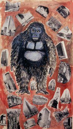 Robert Smithson_It's King Kong the Monster_1962