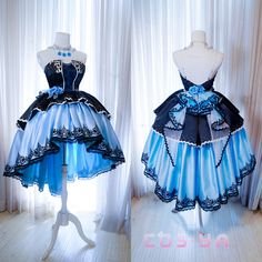 Cosplay Dress, Cosplay Outfits, Anime Outfits, Cute Outfits, Emo Outfits, Cute Prom Dresses, Pretty Dresses, Beautiful Dresses, Old Fashion Dresses