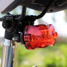 Carretera Bicicletas de Montaña Accesorios de bicicleta Ultra Brillante Linterna de la Luz Trasera de Cola de la Mariposa Lámpara de Luz Posterior de la Bicicleta de Advertencia de Seguridad