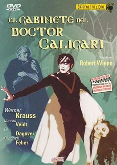 Billedresultat for das cabinet des dr caligari Medan, Robert Wiene, Dvd Cabinets, Dr Caligari, Lillian Gish, My Favorite Image, Horror Movies, Film, Cover