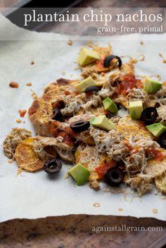 Plantain Chip Nachos - Against All Grain