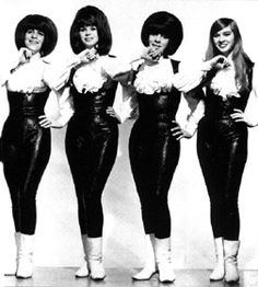 Shangri-La's - '64-'66 - had a bad girl reputation. From Queens