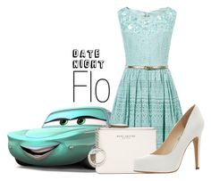 """""""Flo~ DisneyBound"""" by basic-disney ❤ liked on Polyvore featuring Monsoon, Marc Jacobs and Jessica Simpson"""