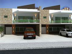 3dsign: Fachada casas geminadas