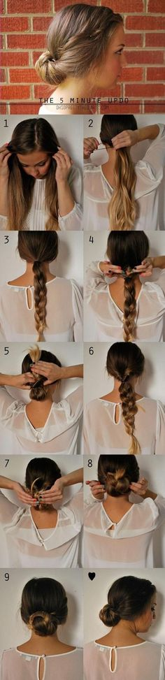 The Five Minute Up-Do