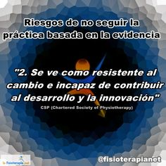 La práctica basada en la evidencia es innovación