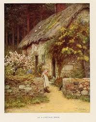 helen allingham  ~ at a cottage door