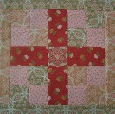Jelly roll quilt blocks by louise
